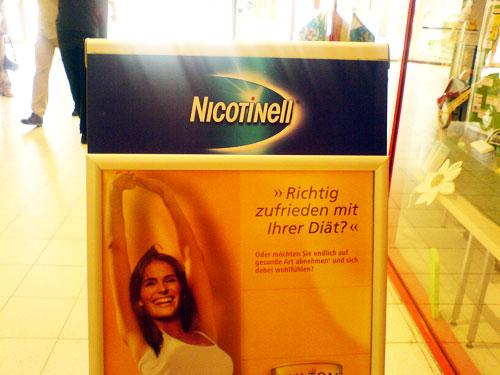 Diaet mit Nicotinell